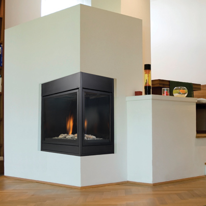 see through direct vent gas fireplace