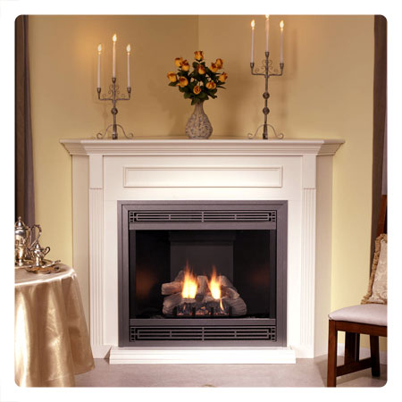 Direct Vent Gas Log Fireplace Outside Exhaust Fireplaces