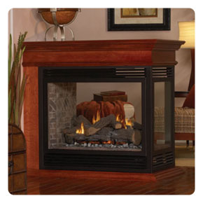 free standing vent free gas fireplace empire ventfree fireplaces gas