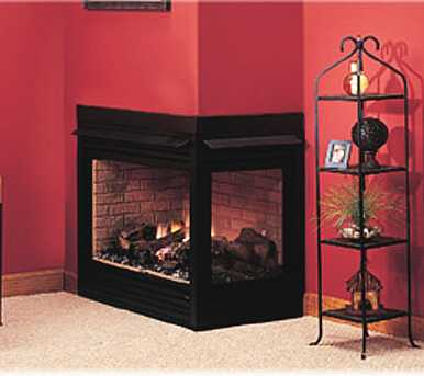 See-through Direct Vent Gas Fireplace