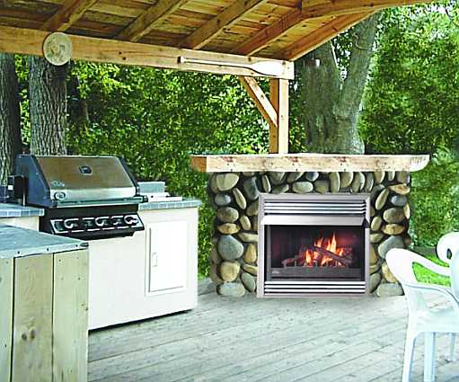 Propane Fire Pits - Outdoor fireplace plans
